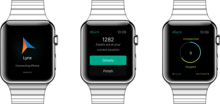 Prototyped UX for Apple Watch