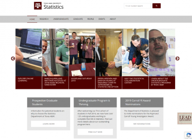 lakeway web design works with Texas A&M